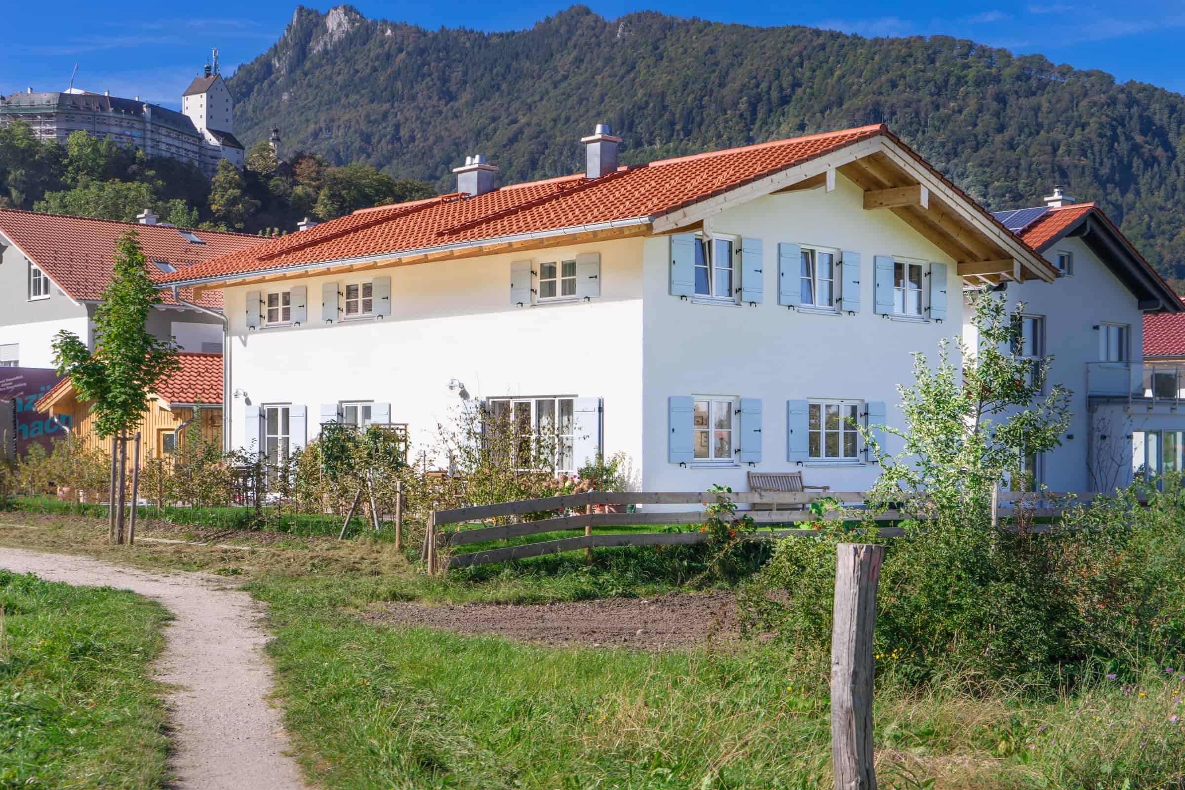 Hausbau in Aschau